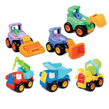 1 Pc Cartoon Construction Truck Construction Car Toy Truck Kids Toys Toy Cars(China)