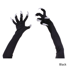 Selling 1 Pair Nails Claw Punk New Supplies Personality Beauty Long Fingernail Glove(China)