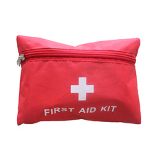 2018First Aid Emergency Medical Survival Kit Bag Wrap Gear Bag Folding Medicine Drug Pill Box Makeup Storage Case Container(China)