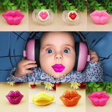Silicone Funny Nipple Dummy Baby Soother Joke Prank Toddler Pacy Orthodontic Nipples Teether Baby Pacifier Christmas Gift(China)