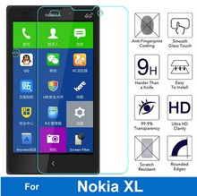 Bainov 2Pcs/Lot 9H Ultrathin Premium Tempered Glass Film For Microsoft Nokia XL 4G Dual Sim Screen Protector Protective Film