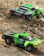 A969 Racing RC Car RTR 4WD 2.4GHz Drift Toys Remote Control Car 1:18 High Speed 50km/h Electronic Car Free shipping(China)