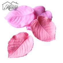 DIY Leaf Shaped  Food Grade Silicone Cake Mold 3D Fondant Cake Decorating Tools Soap Mould Decoration DIY Wedding Cake Tools