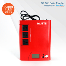 MUST POWER PV1100 Plus 1.4KVA High Frequency Modified Sine Wave Solar Inverter with 50A PWM Charge Controller by SolarBaba