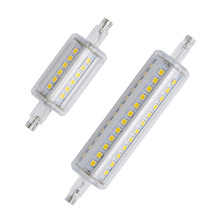 1pcs Dimmable R7S LED Corn 36LEDs 78mm 118mm 72LEDs Light 2835 SMD Bulb 5W 10W Replace Halogen Lamp Bombillas(China)