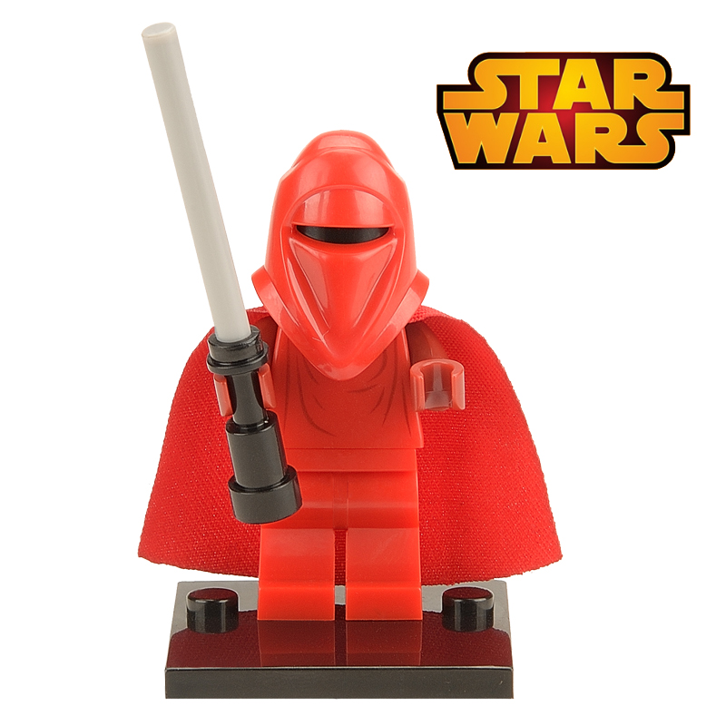 1PC Red Guard with Lightsaber Minifigures Star Wars The Force Awakens Building Blocks Starwars Models Figures Bricks Kids Toys<br><br>Aliexpress