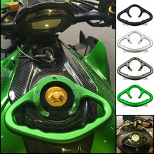 Motorcycle Front Tank Handrails Rear Seat Drop Resistance Handrails Passenger Safety Handle For Kawasaki Z1000 Z800 Z750 ZX6R(China)