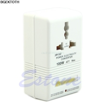 New Professional Power Voltage Converter 220/240V To 110/120V Adapter