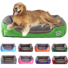 Winter Soft Fleece Removable Dog Bed House Portable Dog Kennels Cages Warm Dog Beds for Large Small Dogs 6 Sizes Easy to Clean(China)