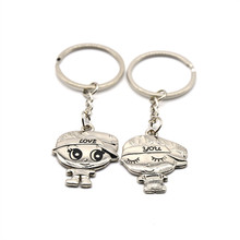 2017 Creative News Lover's Key Chain Couple Friends Women Fashion Gifts