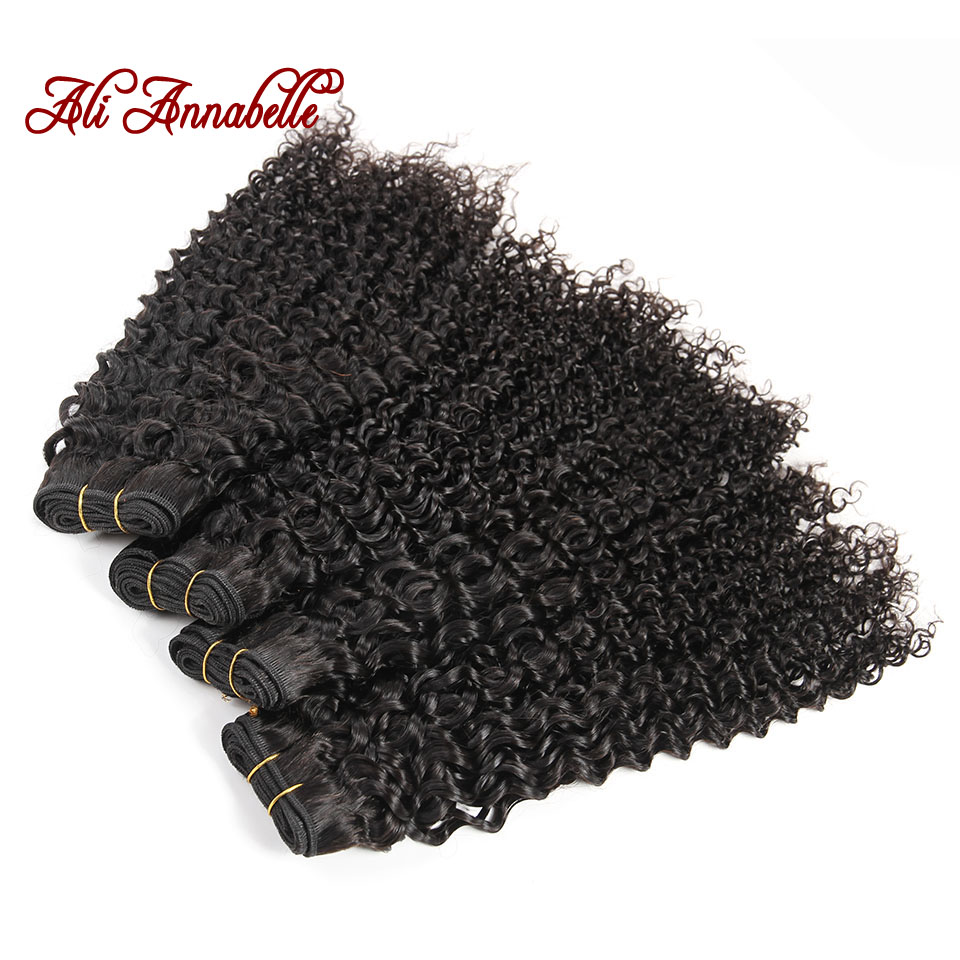 Ali Annabelle 8A Malaysian Kinky Curly Virgin Hair 4 Bundles Per Lot Unprocessed Malaysian Curly Weave Human Hair Extensiones<br><br>Aliexpress