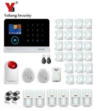 Yobang Security- Intelligent Android IOS App Remote Control WIFI GSM Alarm Door Window Alarm Sensors Home Security Protection