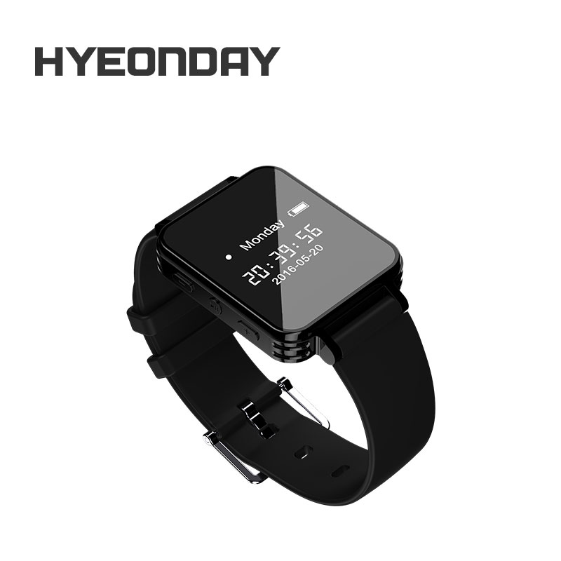 Digital Voice Recorder Watch Audio Recorder T200 Dictaphone Sport Wearable Wrist band Pedometer Waterproof 8G Recording Mini MP3<br>