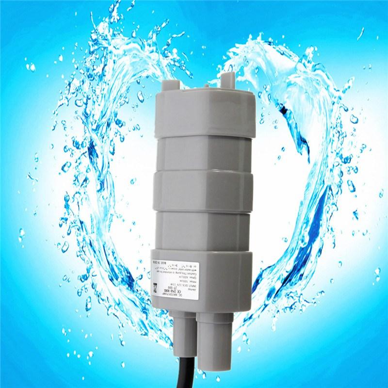 15W 840L/H 5M Rated Current 1.2A12V JT-500 DC Submersible Pump Car Wash Bath 10.8 x 4cm