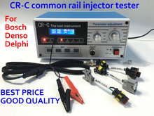 PROMOTION! CR-C multi function diesel common rail injector tester tool for bosch/delphi/denso