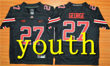 Nike 2017 2016 Youth Ohio State Buckeyes Ezekiel Elliott 15 Ice Hockey Jersey - Red James 23 Eddie George 27(China)