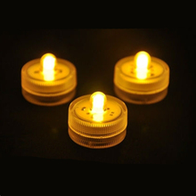 6V LED Submersible Waterproof Floral Tea light Candle light for Xmas Wedding