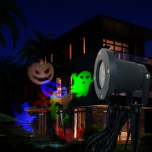 Hot waves style Aluminum IP65 Waterproof Outdoor Five star Light Flurries LED Projector lawn Falling Snowflakes Light