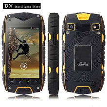"GuoPhone JEEP Z6 4.0"" IP68 Waterproof shockproof Mobile Phone MTK6572 Dual Core Android 4.2 512MB+4GB 5MP WCDMA 3G SmartPhone"