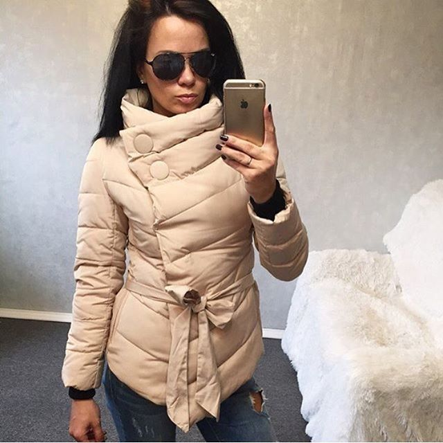2017 winter jacket women duck down coat irrgeular high collar with belt parkas for women winter 3 colors warm outerwear coatsОдежда и ак�е��уары<br><br><br>Aliexpress