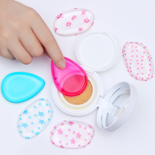 BORN PRETTY Silicone Gel Sponge Makeup Puff for Face Liquid Foundation BB Cream Blender Cosmetic Tool