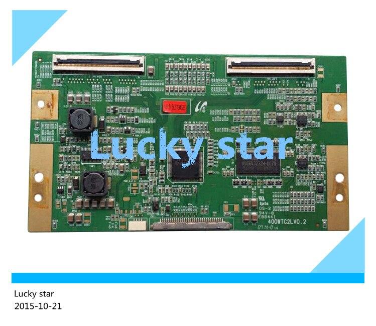 98% new good working High-quality original for board TLM4033D LCD LTA400WT-LF2 board 400WTC2LV0.2 T-con logic board 2pcs/lot<br><br>Aliexpress