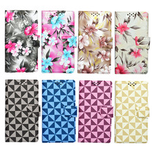 New Fashion Colorful Universal Flip PU Leather Case Cover For DEXP Ixion MS250 Sky Mobile Phone #F3