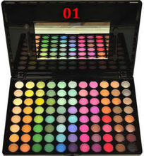 YANQINA 88 Colours Eyeshadow Palette Pro Cosmetic Makeup Tool With Mirror