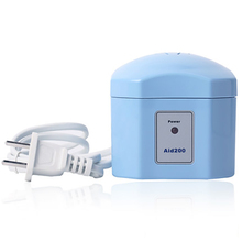 LW Aid200 Free Shipping Blue Hearing Aid Dryer Electrical Drying Case Drybox Dehumidifier Hearing Aids Accessories