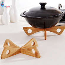 New Bamboo Heat Resistant Pan Mats Removable Pot Mat Holder Kitchen Cooking Insulation Pad Bowl Cup Coasters