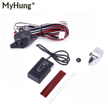 Car-styling Which Parking Sensors Kits Auto Electromagnetic Parking Sensor No Grill Auto Parking Assistance Car Accessories