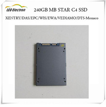 MB STAR C4 SSD 240GB 2017.07 full set mb star c4 sd vediamo software XENTRY/DAS/EPC/WIS/EWA/VEDIAMO/DTS Monaco dhl free shipping