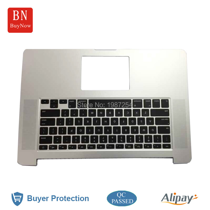 2015 Year New 15.4 Laptop Original Top Case For MacBook Pro Retina 15 A1398 Topcase With Keyboard US Version 2015 Year<br><br>Aliexpress