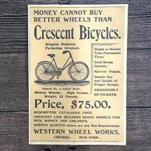 Vintage Old bicycle advertising Prints poster retro painting wall picture sticker wallpaper home decoration 42x30cm YSP-B007(China)
