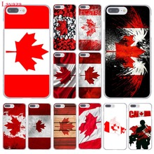 Canada flag toronto maple leafs Hard Coque Shell Phone Case for Apple iPhone 7 7 Plus 6 6S Plus 5 5S SE 5C 4 4S Clear Back Cover