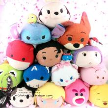 Big Size 30cm TSUM TUSM Pillow Soft Stuff Plush Toy Doll TSUM TSUM Plush Toys Stuffed Cartoon hold Pillow for Christmas Gift