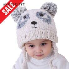 Luna Kitty 2018 invierno nuevo mapache de modelo de doble espesar caliente  brida lindo sombreros de 72bb6c43e01