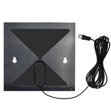 High Quality Clear Flat Design High Gain TV Antenna TV HD Digital Antenna No More Cable Bills Genuine