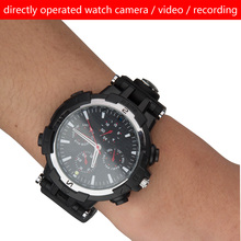 2017 Classic Camera Smart Watch with Wireless wifi  Camera Video Recording wifi cctv camera smart watch