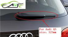 "Free Shipping Car rear wiper blades For Audi Q5 Soft Rubber WindShield Wiper Blade  Size 13"" 325mm"