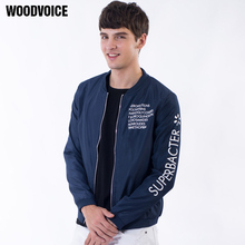 Woodvoice 2017 Autumn Winter Jacket Men Fashion Brand Jackets Men Polo Jacket Male Coats Slim Fit Solid Casual Jaqueta Masculina