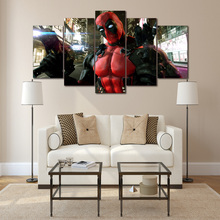 HD Printed deadpool Game Painting Canvas Print room decor print poster picture canvas Free shipping/ny-3030