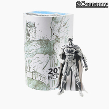 SDCC DC Comics Sketch Batman Figure Blueline Edition JimLee Con Batman PVC Action Figures Toy Brinquedos(China)