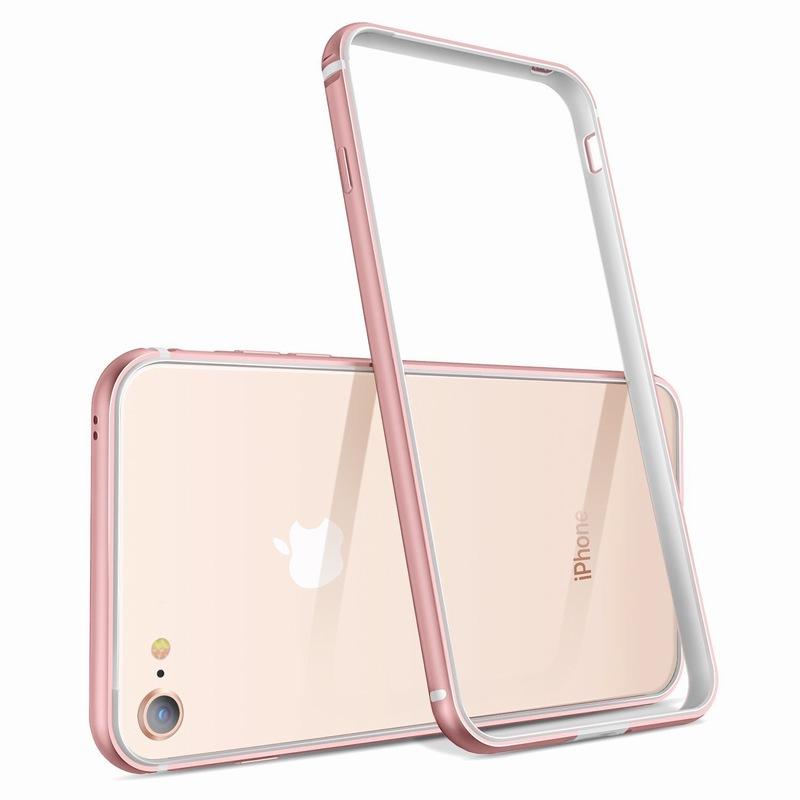 Ascromy For iPhone 8 Case Aluminum TPU Silicone Hybrid Shockproof Bumper Case for iPhone 7 Plus 8 8Plus 7Plus Metal Frame Coque (6)