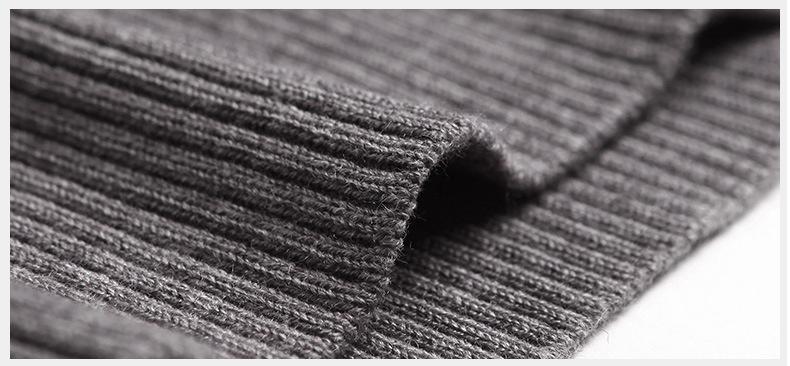 Merino Wool Sweater Pullovers Men V Neck Long Sweater Jumpers Luxury Winter Warm Mercerizing Fleece Male knitwear Autumn Spring-02