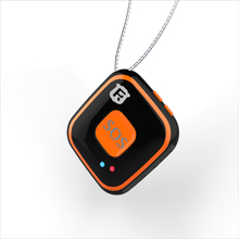 Micro Children Gps Tracker Necklace,Long Distance Kids Alarm Gps Tracking locator Device,Gsm Sim Card Personal Mini Gps(China)