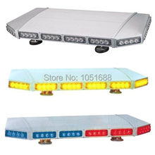 United Safe free shipping ESM0227 low profile GEN III 1 Watt super bright LED mini Warning Lightbar(amber/blue/red/white)