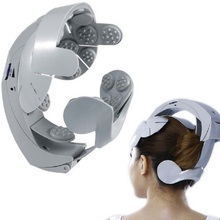 Electric Head Massager Humanized Design Healthcare Head scarf Spa Massage machine Relax Easy body Brain Acupuncture Points