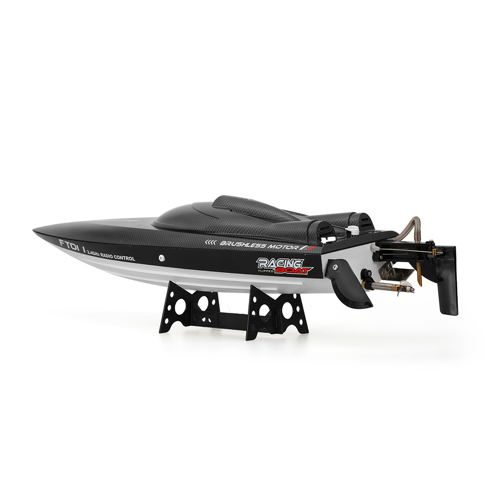 Feilun FT011 2.4G 55kmh High Speed RC Boat Racing Boat with Water Cooling Flipped Self-righting Function Ship Speedboat Toys (11)