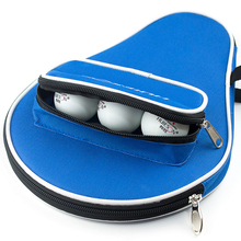 1 Piece Table Tennis Bag Multi-color Ping Pong Case Table Tennis Training Rackets Black Blue Red Bag tennis de table accessoire